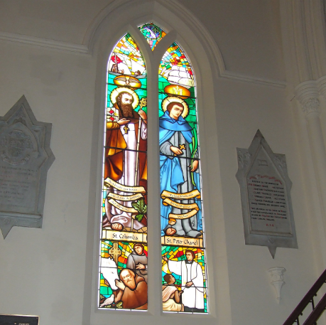 2017 Stained Glass St Pattrick by Art glass ireland auckland Cathedral st pierre chanel stained glass