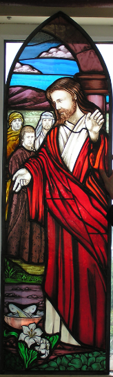Art glass Derry, Ireland, Stained glass studio man made painted fired church stained glass new design resortation made in ireland