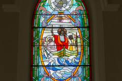 Art glass stained glass window St. Mary's of the Visitation
