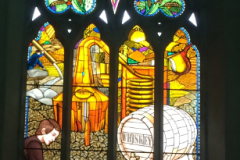Dublin stained glass, traditonal an new deisgn of church decourative stained glass