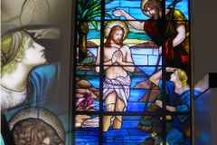 full size stained glass, traditonal an new deisgn of church decourative stained glass