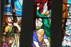 traditional irish decourative hand made stained glass new designes and traditonal irish glass donegal ireland