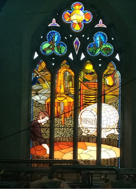 traditional irish decourative hand made stained glass new designes and traditonal irish glass