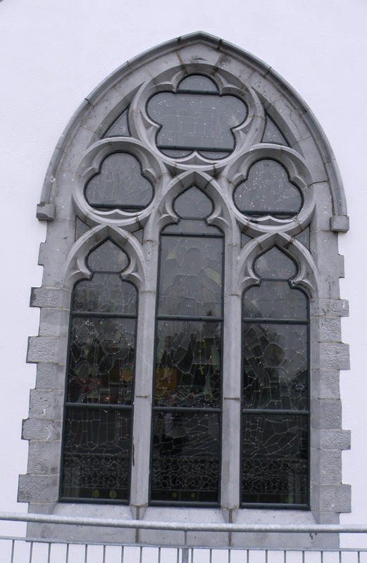 Storm Glazing Belfast Northern Ireland church glass