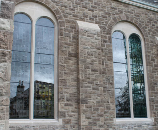 storm glazing glass church storm glazing aluminium water proof exterior isothermal storm glazing architects church heritage stained glass studio