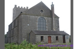 Church Glass external protective stormg glazing in ireland stained glass studio