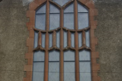 Iirsh Church restoration stained glass repaire restore and protect with water proof external glazing storm glazing by stained glass restoration specialists