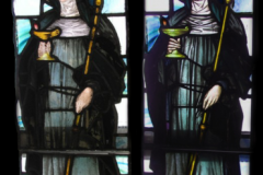 Conservation Listed protected stained glass restoration Uk ireland International stained glass stuido art glass ireland